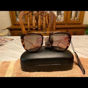 Quay Australia Brown Squared Sunglasses NWT